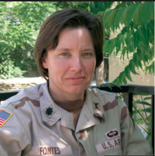 New commander is highest ranking female officer in Afghanistan since war began